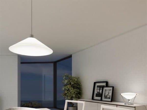 LED aluminium pendant lamp RIMBO 6292 by Milan Iluminacion
