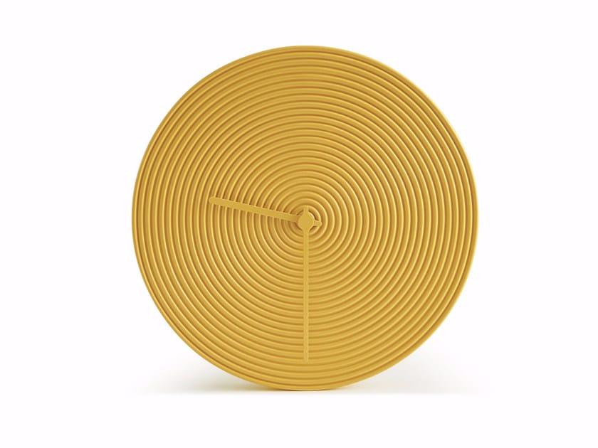 Orologio in ceramica da parete RING by Atipico