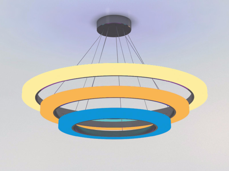Pendant lamp RING by Neonny