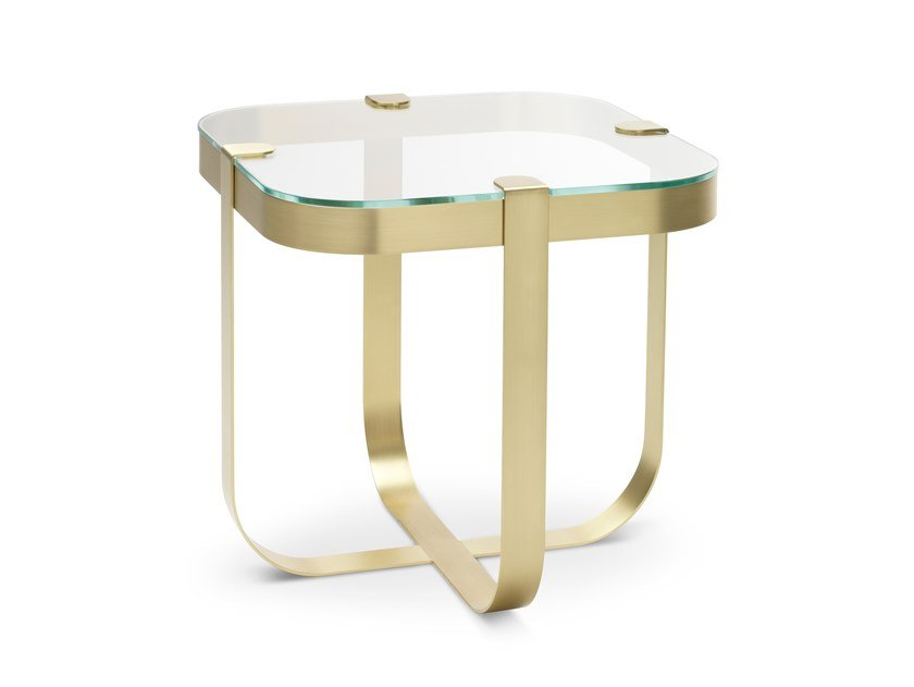 Square coffee table RING | Square coffee table by Saba Italia