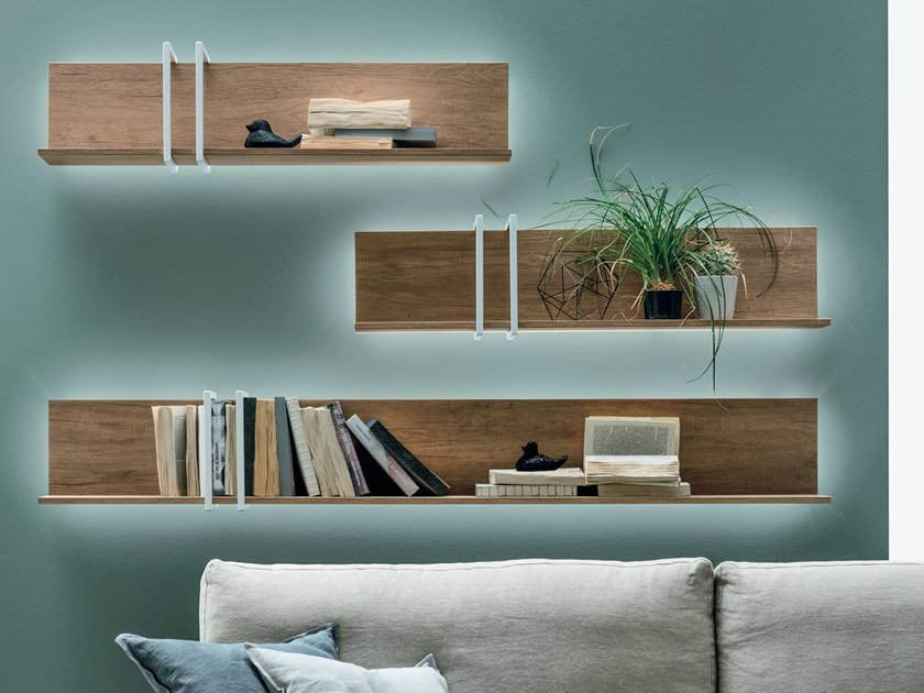 Wall shelf RING by Gruppo Tomasella