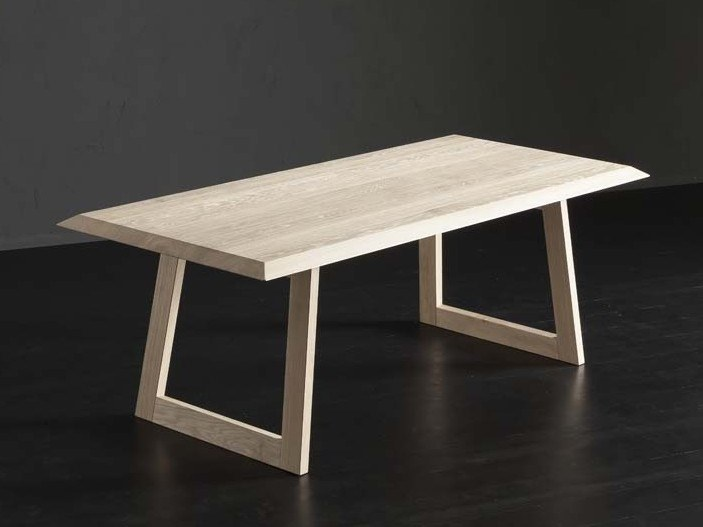 Rectangular wooden dining table RIO + FLAT by AltaCorte