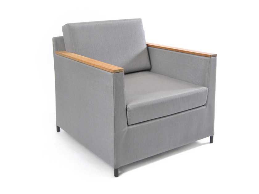 Textilene armchair with armrests RIO | Armchair by FISCHER MÖBEL
