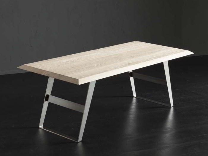 Rectangular wooden dining table RIO  + IRON by AltaCorte