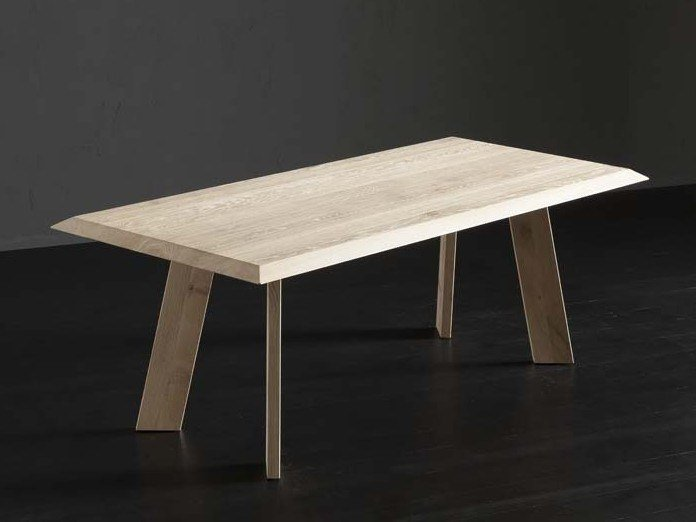 Rectangular wooden dining table RIO + STREET by AltaCorte