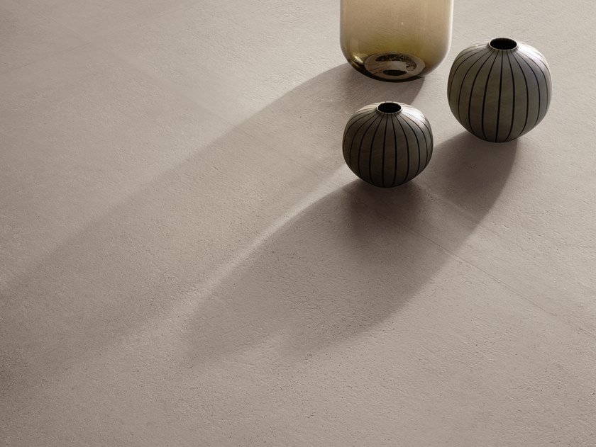 Porcelain stoneware wall/floor tiles with stone effect RITUAL GREIGE by CERAMICA SANT'AGOSTINO