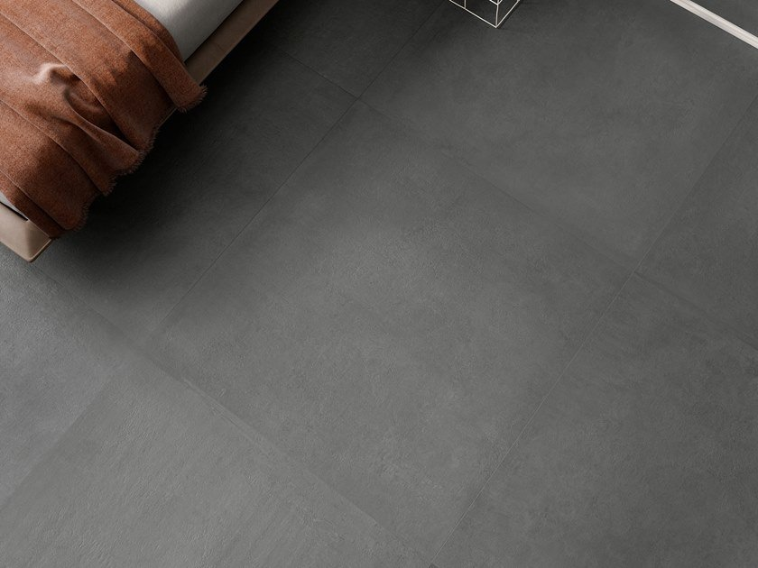 Indoor porcelain stoneware wall/floor tiles with stone effect RITUAL NIGHT by CERAMICA SANT'AGOSTINO