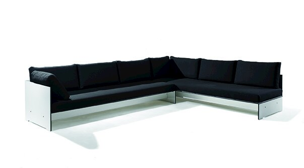 Corner sectional upholstered sofa RIVA COMBINATION B by conmoto
