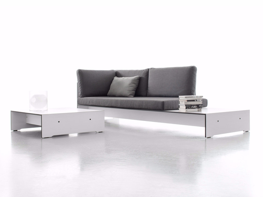 Upholstered sofa RIVA COMBINATION F by conmoto