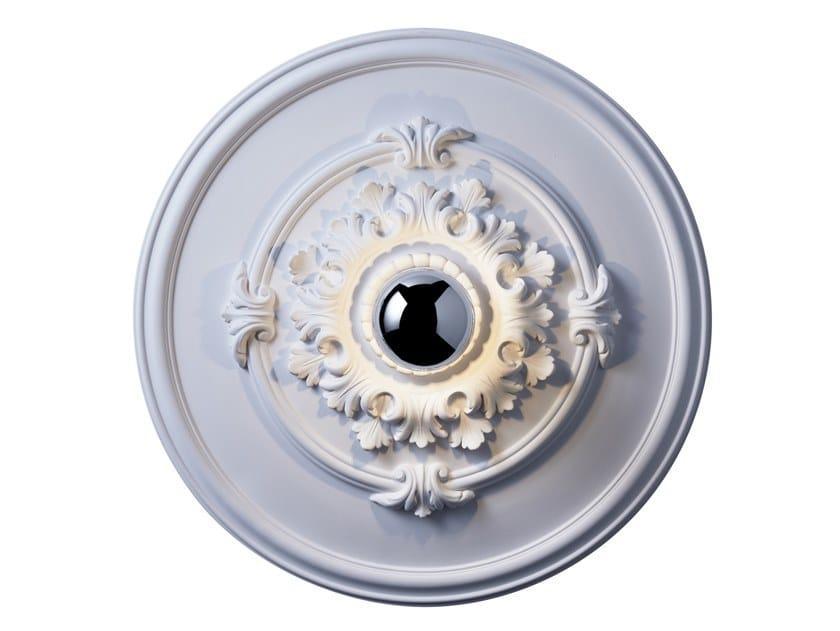 Handmade gypsum ceiling light RIVOLI S by RADAR INTERIOR