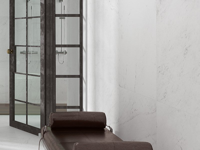 Wall/floor tiles with marble effect RIVOLI by Venis