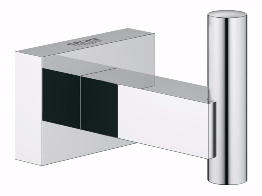 Robe hook / towel rack ESSENTIALS CUBE | Robe hook by Grohe