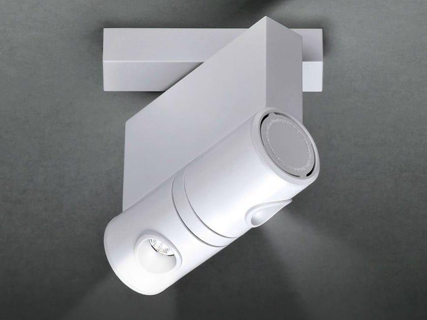 LED ceiling spotlight ROBOTIC 6443 by Milan Iluminacion