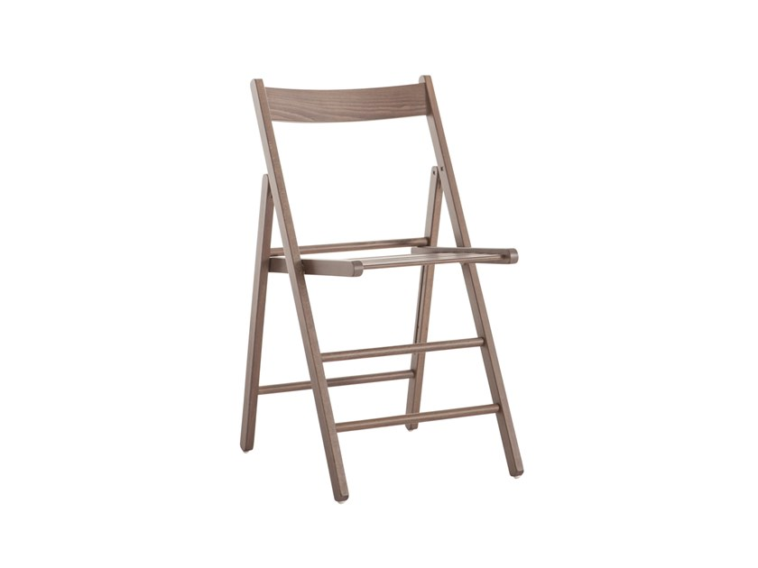 Folding beech chair ROBY 451 by Palma