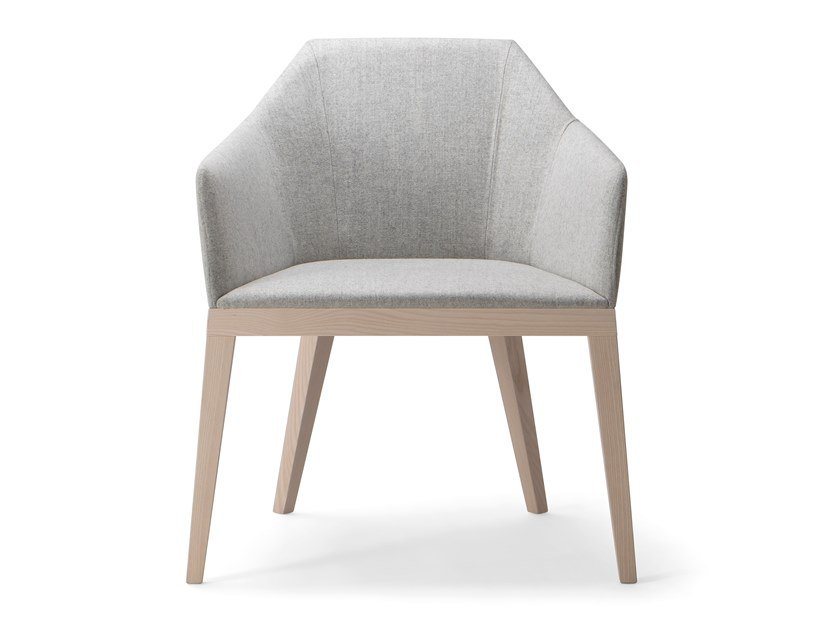 Lounge chair with armrests ROCK LOUNGE CHAIR by Verti