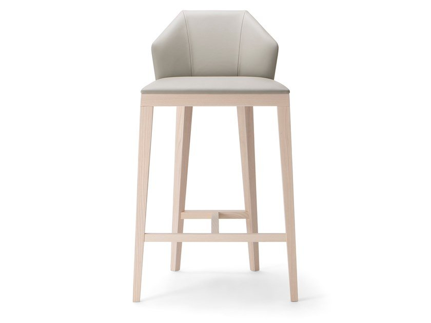 High stool with back ROCK STOOL by Verti