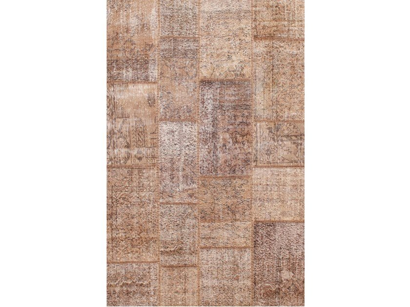 Handmade patchwork rug ROCK TORTORA by Sirecom