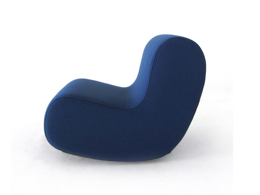 Rocking modular fabric armchair SIMPLE | Rocking armchair by Inday