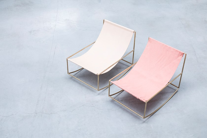 ROCKING CHAIR | Poltrona in lino