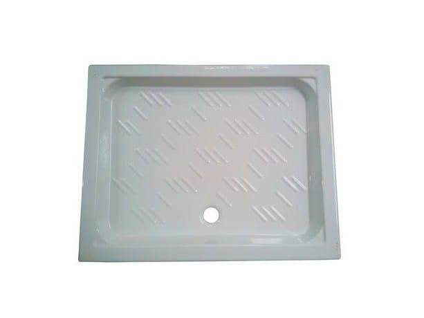 Anti-slip rectangular shower tray RODI by GALASSIA