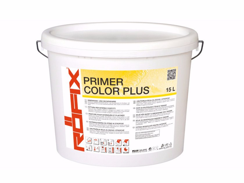 Base coat and impregnating compound for paint and varnish RÖFIX PRIMER COLOR PLUS by RÖFIX