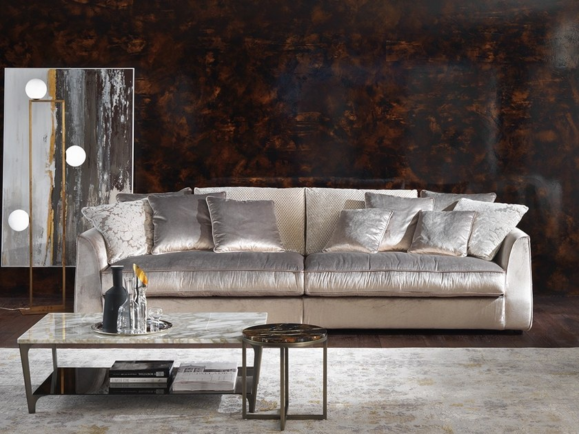 4 seater fabric sofa ROGER   4 seater sofa by Marelli