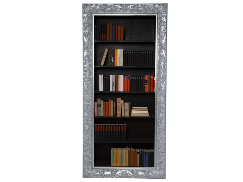 Lacquered bookcase ROKOKO SILVER by KARE-DESIGN