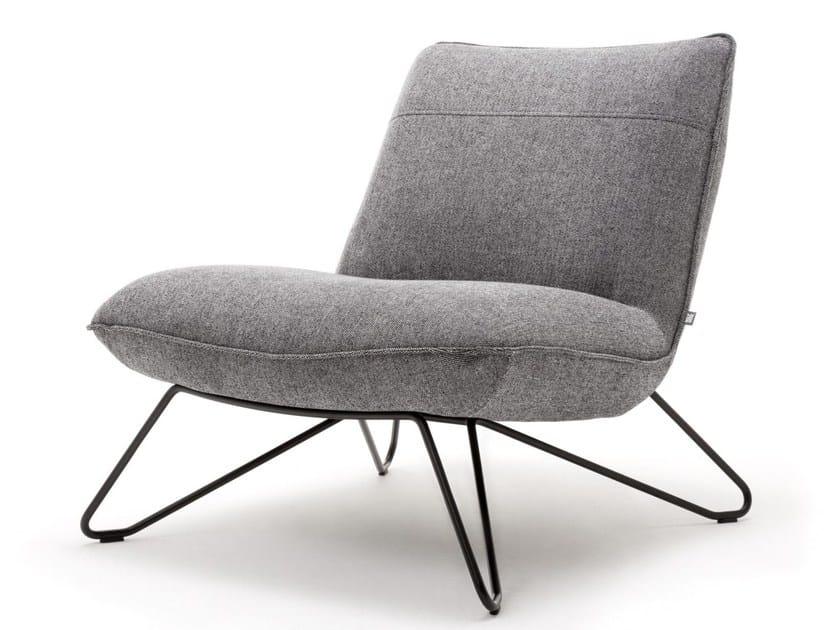 Rolf Benz Draaifauteuil.Rolf Benz Rolf Benz 394 Fabric Easy Chair