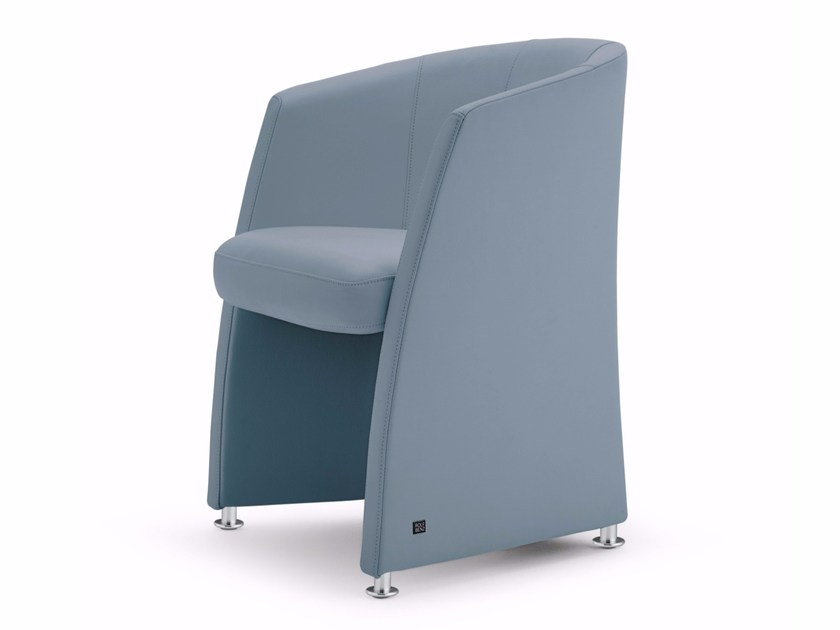 Rolf Benz Draaifauteuil.Leather Easy Chair With Armrests Rolf Benz 7300 Easy Chair By