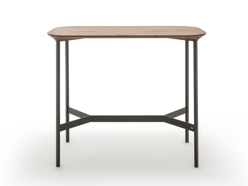 Rectangular high table ROLF BENZ 935   Rectangular table by Rolf Benz