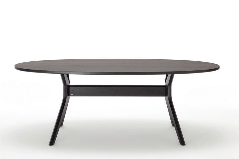 ovaler esstisch holz free eiche in holz ausziehbar jetzt. Black Bedroom Furniture Sets. Home Design Ideas
