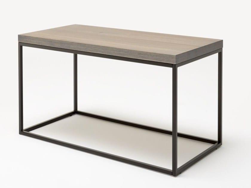 Perfekt Hoch  Rechteckiger Couchtisch Aus Holz ROLF BENZ 985 | Hoch  Couchtisch By  Rolf Benz