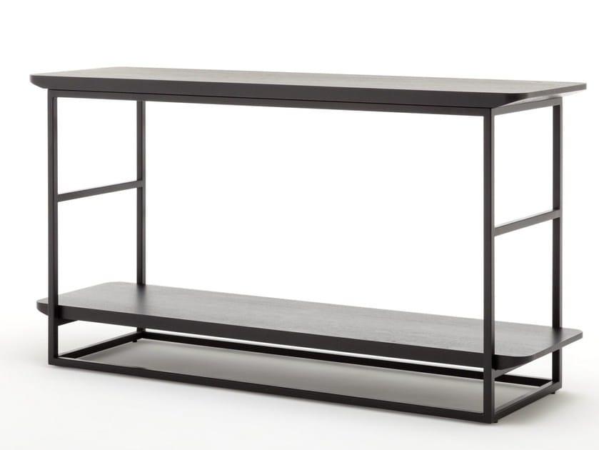 Tavolino alto rettangolare in legno ROLF BENZ 987 | Tavolino alto by Rolf Benz