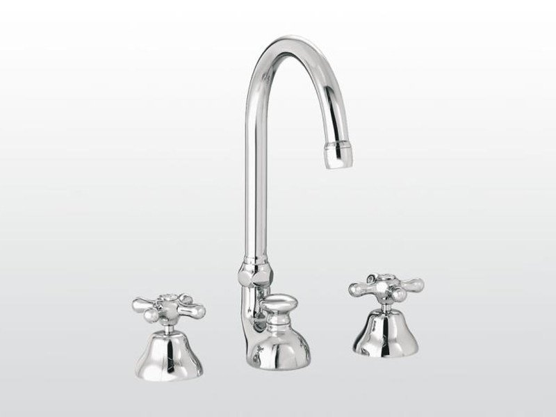 3 hole countertop washbasin tap ROMA | 3226TC by RUBINETTERIE STELLA