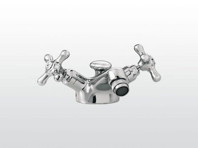 Chrome-plated 1 hole bidet tap ROMA | 3604 by RUBINETTERIE STELLA