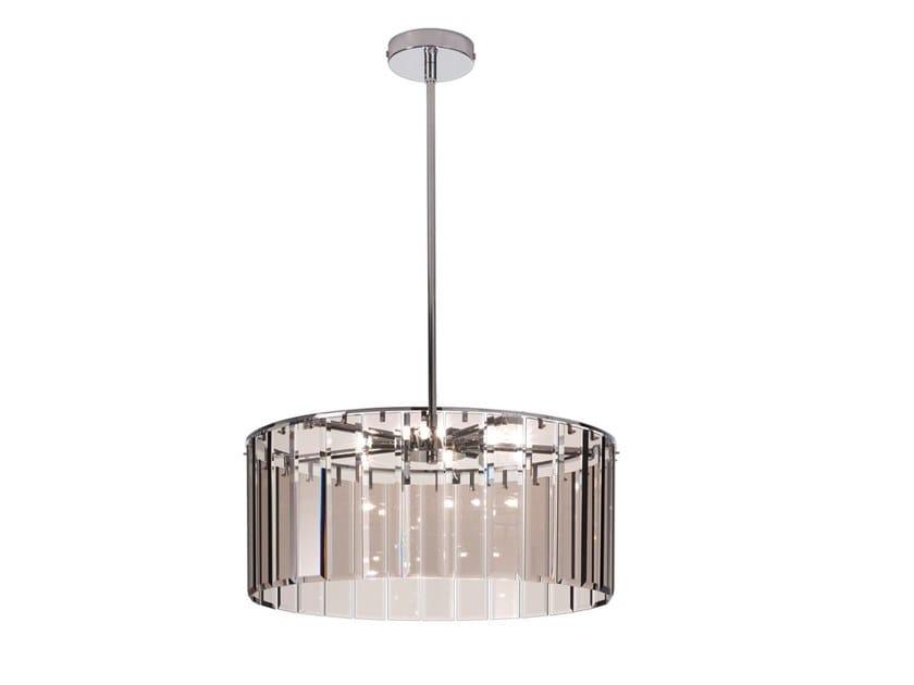 Lampada a sospensione in vetro ROMA | Lampada a sospensione in vetro by IDL EXPORT