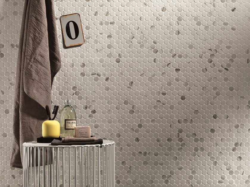 Porcelain stoneware mosaic ROMA | Mosaic by FAP ceramiche
