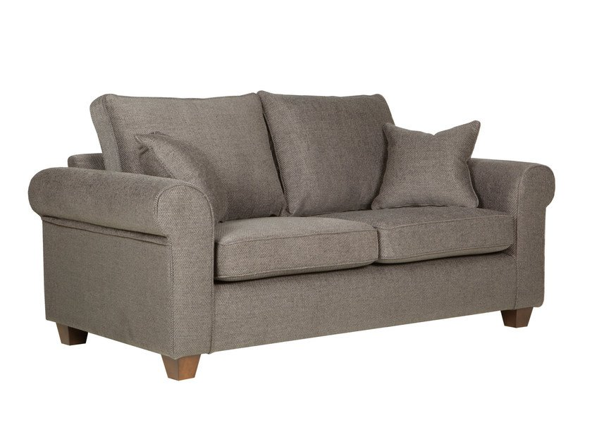 Upholstered 2 seater fabric sofa ROMANTIC | 2 seater sofa by SITS