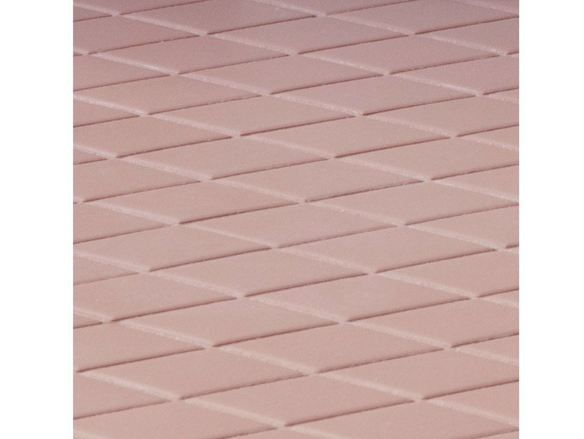Porcelain stoneware wall/floor tiles ROMBINI LOSANGE RED by MUTINA