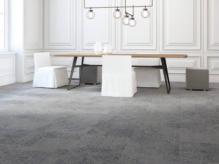 Object Carpet patterned carpet tiles rome freestile collection by object carpet
