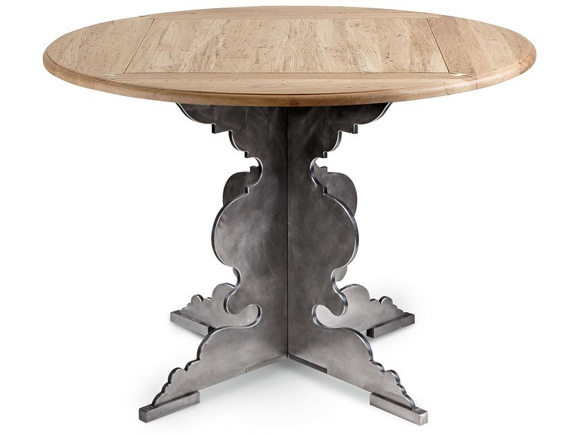 Round wooden table ROMEO   Wooden table by Cantori