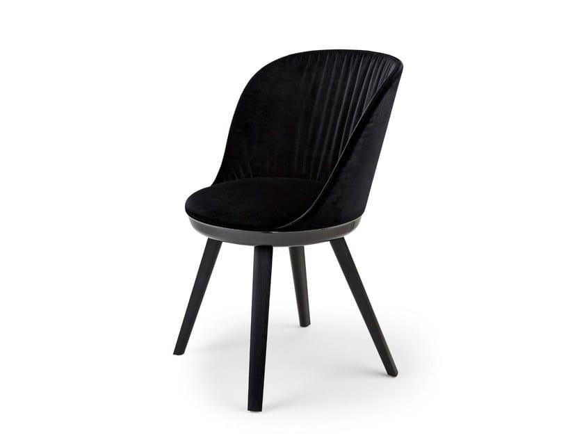 Fabric chair ROMY CHAIR by Freifrau