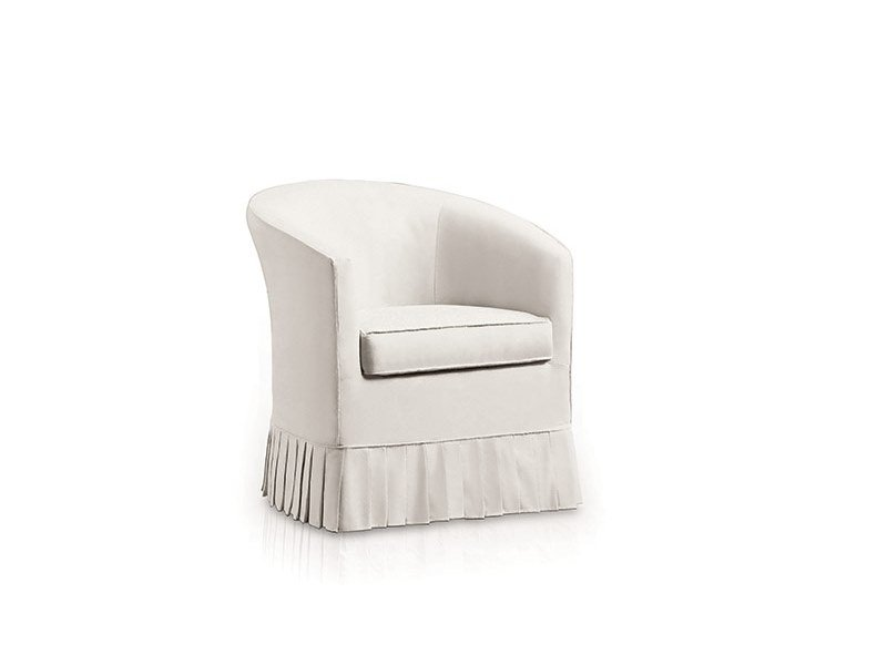 Fabric armchair with armrests RONDECA by Felis