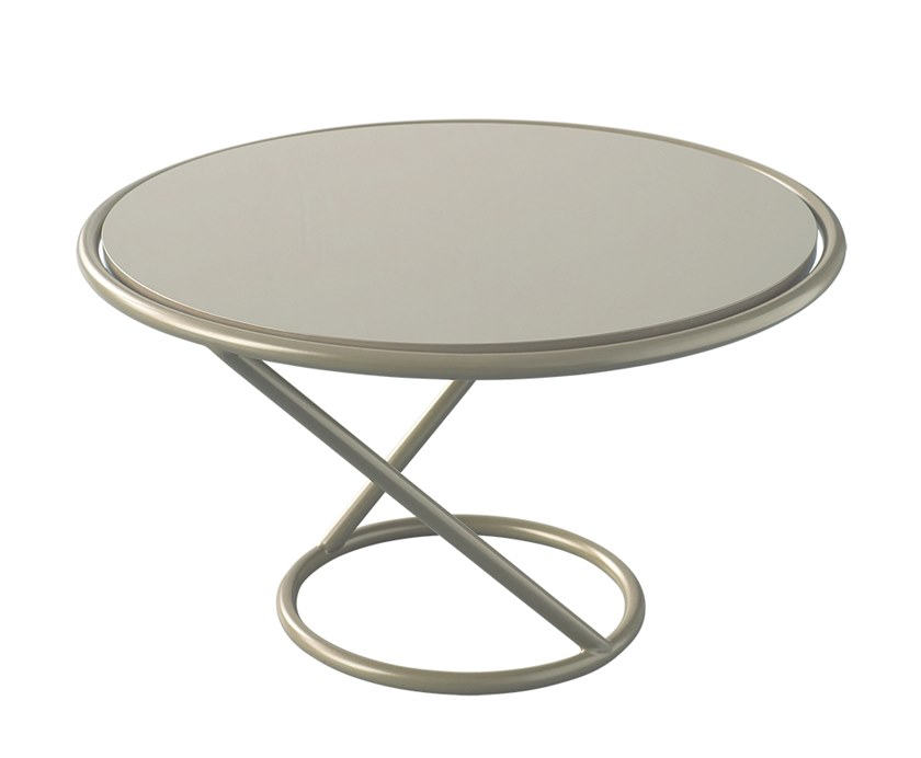 Round coffee table for living room RONDO | Coffee table by Verpan