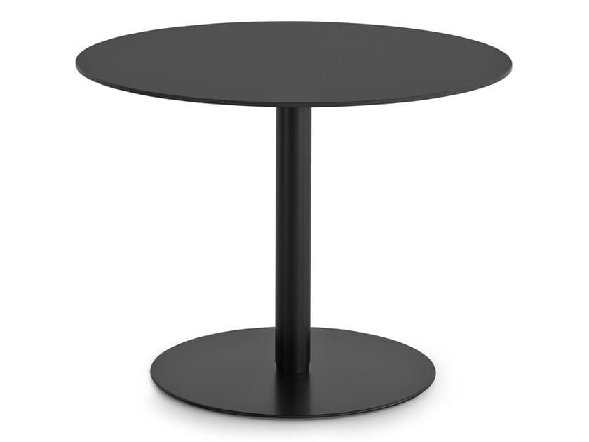 Tavolo ad altezza regolabile rotondo rond tavolo ad for Altezza tavolo