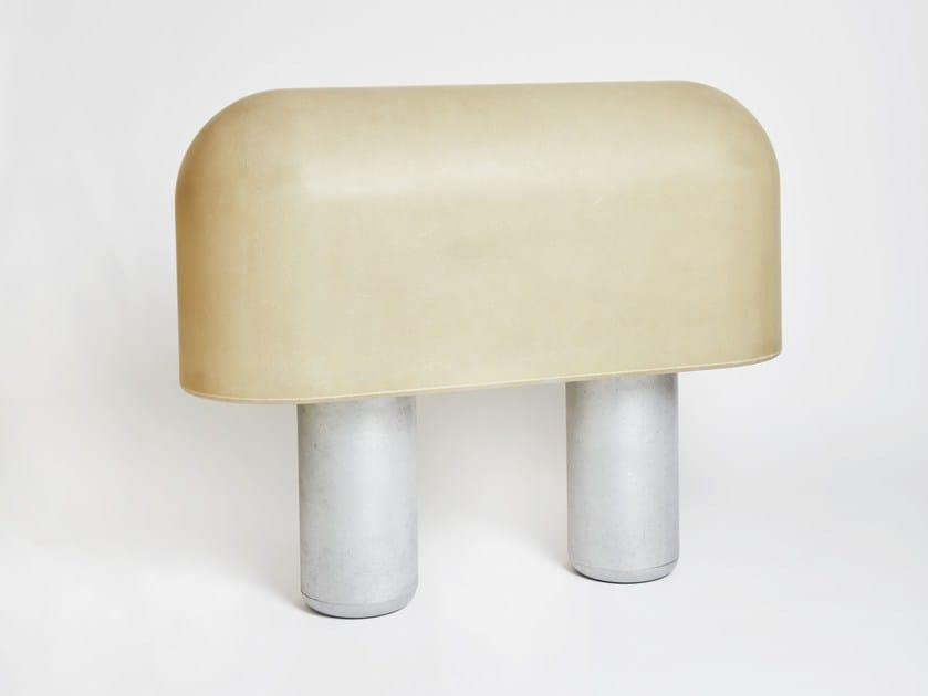 Floor lamp / room divider PUFFBALL | Room divider by Matter Made