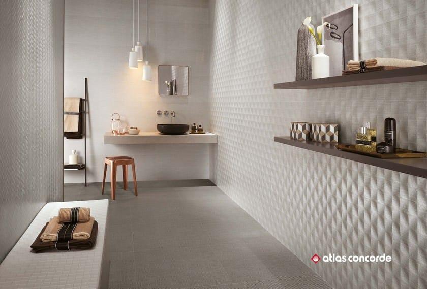 ROOM WALL | Rivestimento tridimensionale in ceramica a pasta bianca