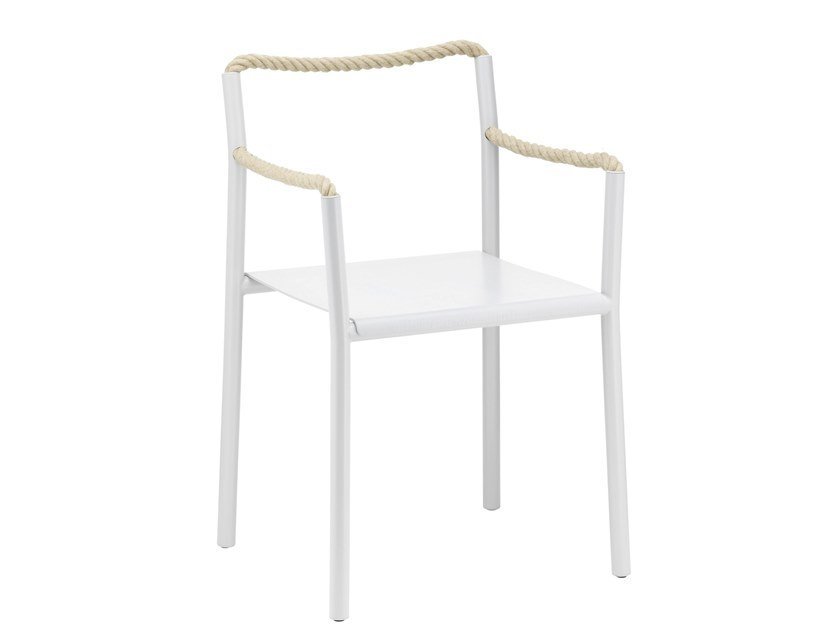 Chair with armrests ROPE | Chair by Artek