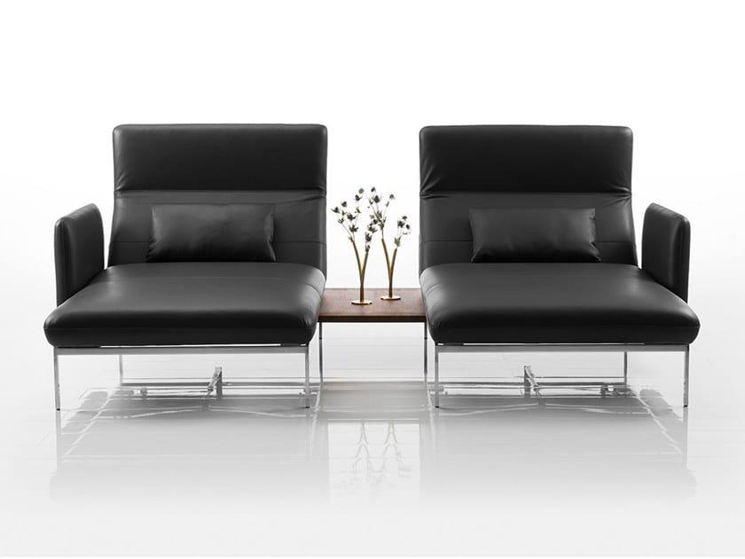 Divano Reclinabile Due Posti : Divano reclinabile in pelle a posti roro divano a posti