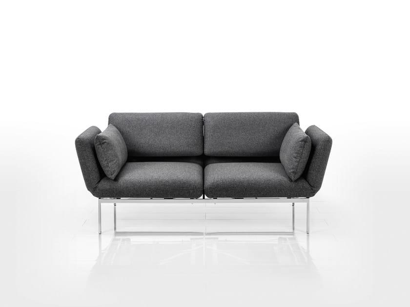 Divano Reclinabile Due Posti : Divano reclinabile in tessuto a posti roro divano in tessuto